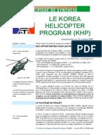 Hélicoptère KHP Corée du Sud 2007