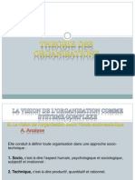 Th Des Organisations ( Contingence)