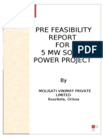 PFR- 5 MW Solar of Milisaty Vinimay Pvt. Ltd