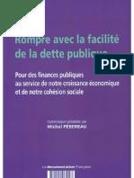 Rompre avec la facilité de la dette publique