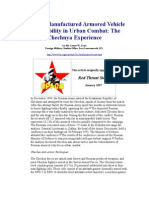 Russian Vehicle Vulnerability in Urban Combat