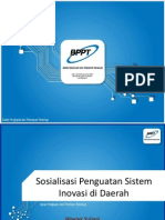 Pengembangan Kabupaten/Kota Inovatif dalam Kerangka SIDa