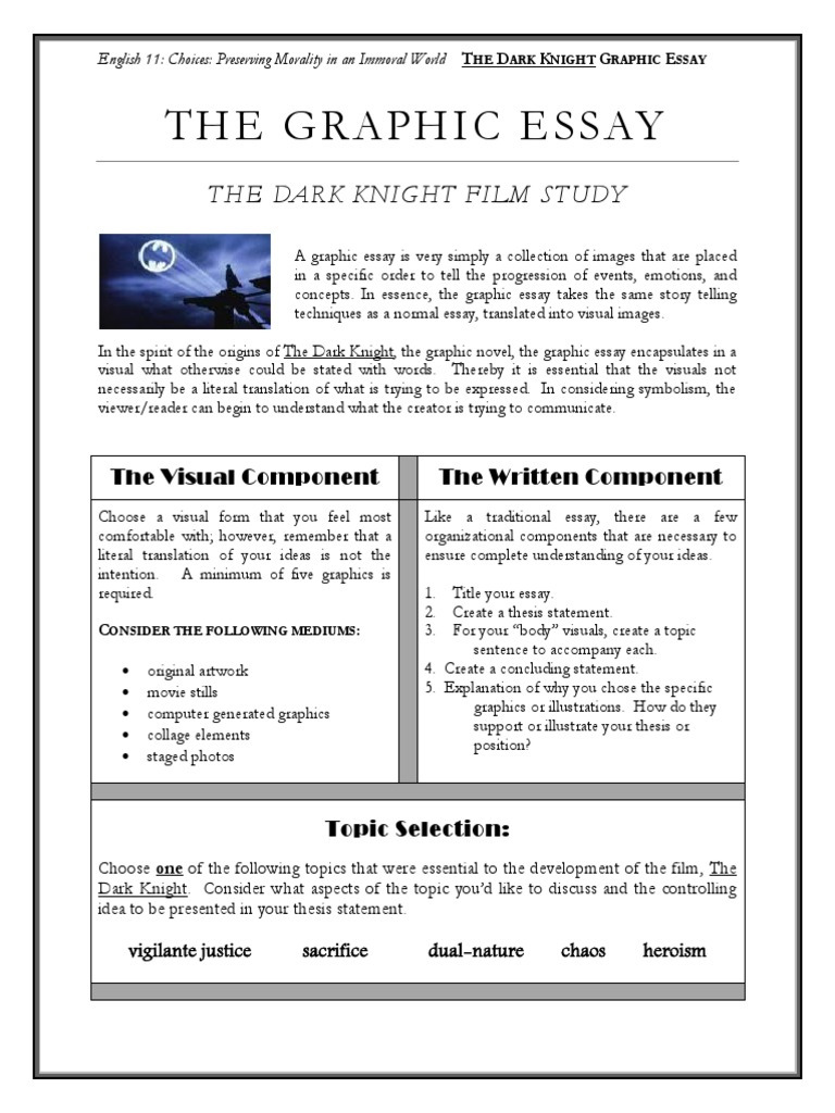 Research Essay Proposal Example  Writing A Process Essay Examples also Population Of India Essay The Dark Knight Graphic Essay  Graphics  Essays Personal Change Essay
