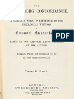 J.F.Potts THE SWEDENBORG CONCORDANCE Vol 2 DtoF pages 51 to 71 DEGREE The Swedenborg Society 1890 Rep 1953