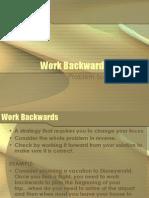 workbackwards