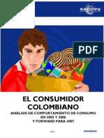 Estadistica Alimentos en Colombia
