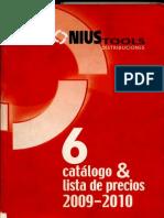 Catálogo Nonius