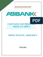 Cam Nang San Pham Tin Dung CA Nhan