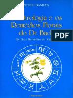 3198301 Astrologia e Os Remedios Do Dr Bach a Peter Damian
