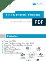 FTTX & Telecom Solutions