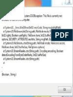 Cache File Problem