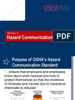 11 Hazard Communication