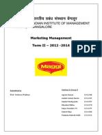 Marketing Management Report Maggi in India
