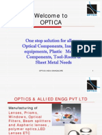 Optica Optics Presentation
