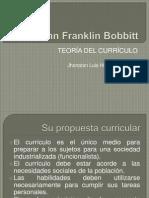 Teoria Curricular de Bobbitt - Huachaca Reyes, Jhonatan Luis