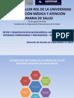 Retos Educacion Medica Cuba DGGDRH MINSA
