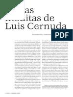 IVCartas Ineditas de Luis Cernuda