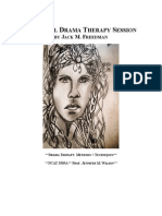 Fictional Drama Therapy Session