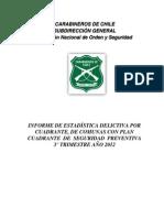 Glosa N° 4  (3er. Timestre  2012)
