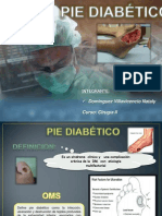 Pie Diabetico Expo Naty