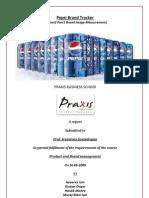 Brand Image Measurement Pepsi
