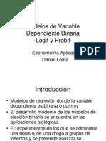 Notas Clase 5 Probit Logit