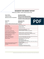 Panay Island Rapid Market Assessment Report, World Vision, Nov 29, 2013