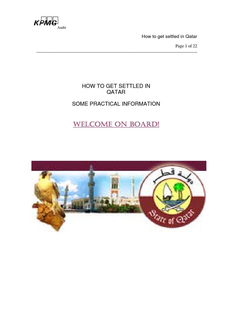 How to Settle in Qatar | Travel Visa | Qatar