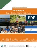Banco Mundial 2013 Nicaragua Costo Del Saneamiento Inadecuado