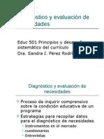 Diagnóstico y evaluación de necesidades Apéndice B