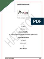 Project Charter.. Hazelton Case study
