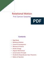 XII Physics Rotational Motion