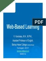 Web Based Learning