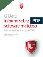 G DATA MalwareReport Otoño 2009