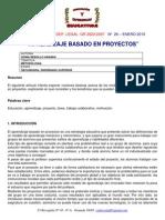 Aprendizaje Basado en Proyectos Sonia_rebollo_aranda1 2010