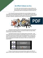 Guia de eves pokemon