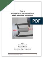 Dasar Pemrograman Untuk Mesin Bubut CNC Dengan GSK 928 TE-Rev1