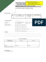 1a. Form Pendaftaran Seleksi Judul TA 1314