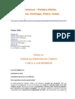 Claretianos - Palabra Mision. 6 Hebreos Santiago Pedro