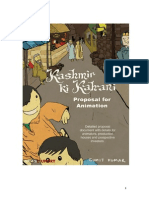 Kashmir Ki Kahani - Animation Document