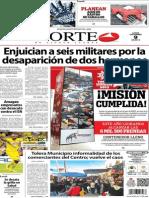 Periódico Norte de Ciudad Juarez 9 de Diciembre de 2013