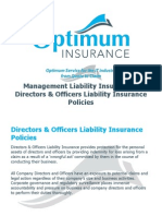 Directors and Officers_Management Liability Insurance