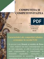 COMPETI+óIA SI COMPETITIVITATEA