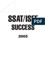 EPrep SSAT Practice Test 1 Middle Level Answer Sheet