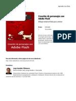 Creacion de Personajes Con Adobe Flash