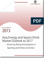 Surging Health Awareness to Impel the Energy and Sports Drink Market Growth in Asia
