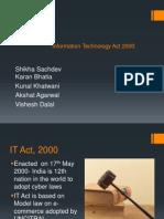 It Act Law Presentation