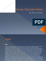 disney gender roles