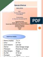 Diskusi Status Malaria