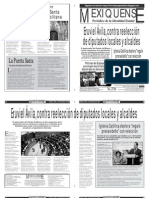 Versión impresa del periódico El mexiquense 9 diciembre 2013